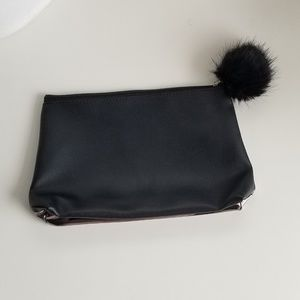 Nordstrom Two Tone Clutch Bag
